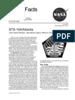 Nasa Facts STS-104