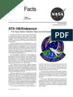 Nasa Facts STS-108