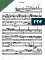 Scarlatti - Sonata k001
