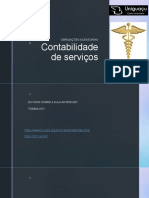 Contabilidade de Serviços AULA 5