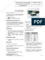 K0020 - Transdutor Analógico de Corrente e Tensão Contínua W150-W151 (Rev02)