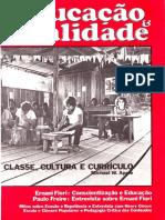 Entrevista com Paulo Freire - Educação & Realidade - v. 11, n. 1 - jan-jun 1986