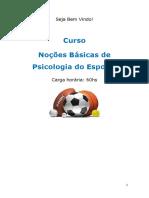 01. Noções Básicas de Psicologia Do Esporte Autor Cursos Online SP Do Brasil