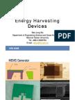 Energy Harvesting Devices