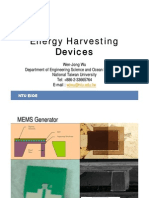 Energy Harvesting Devices