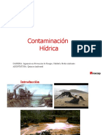 contaminación en el agua hidrica