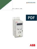 ABB inverter ACS 150