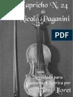nicolo_paganini_-_24_Capricho_arranged_for_electric_guitar