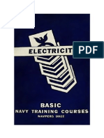 Basic Electricity - Navpers 10622, 212 pages.