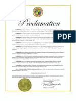 Honolulu and State Energy Efficiency Day Proclamations
