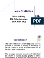 Business Statistics-what and why