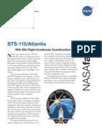 NASA Facts STS-115
