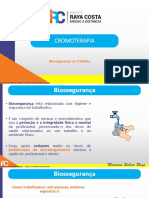 BIOSSEGURANÇA CROMOTERAPIA