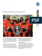 NASA Facts STS-116 International Space Station Gets Staying Power