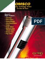 Omsco drillpipe catalogue