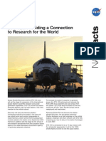 NASA Facts STS-120 Providing a Connection to Research for the World