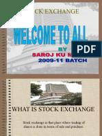 SAROJ MUDULI-STOCK EXCHANGE