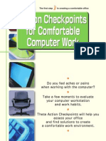action checkpoint for comfortable computer work work