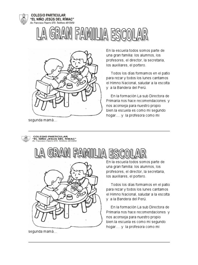 LEC LA GRAN FAMILIA ESCOLAR