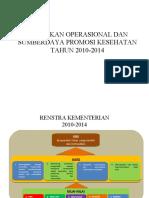 kebijakan promkes 2010 - 2014