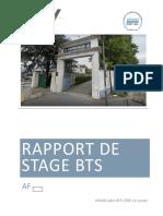 Rapport de Stage Verbrugge