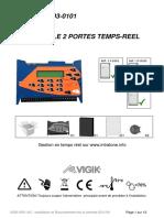 V233 - 5001 - AC - Installation Centrale VIGIK 2 Portes Temps réel 03-0101