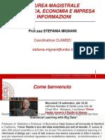 Informazioni Laurea Magistrale 2019-20