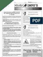 Chavornay Infos du 15 avril 2011