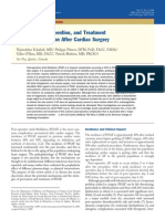 Mechanisms Prevention and Treatment of Atrial Fibrillation After Cardiac Surgery