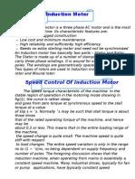 Induction motor2