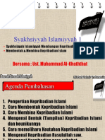 MEMBANGUN KEPRIBADIAN ISLAM