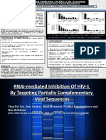 RNAi-mediated Inhibition Of HIV-1  By Targeting Partially Complementary  Viral Sequences