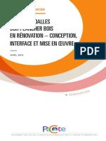 PACTE - Chape Et Dalles Sur Plancher Bois en Rénovation