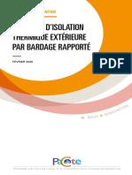 PACTE - Isolation Thermique Extérieur Par Bardage Rapporté