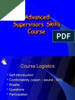 Advanced Supervisory Skills
