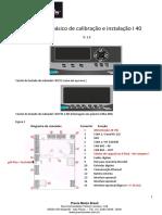Manual Básico de Instalação e Calibração I40 v1.3