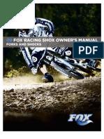 FOX shox 2009EnglishOM