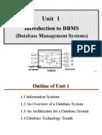 Unit01 DBMS