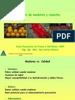 Indices de madurez y cosecha