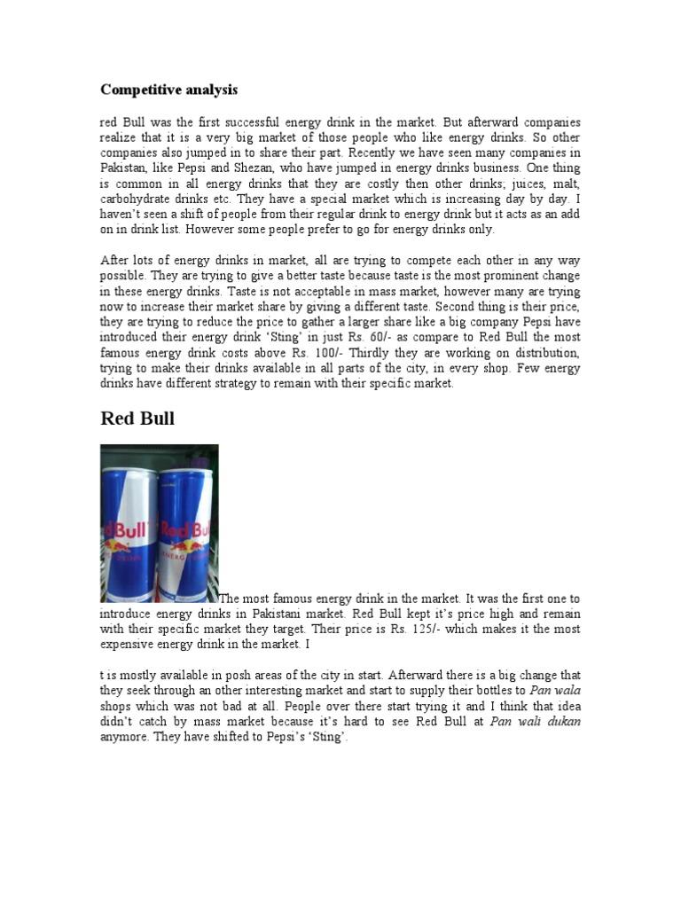 red bull market analysis