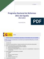 Análisis y Valoración PNR 2011_2