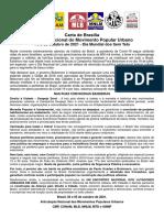 Manifesto MPU 2021