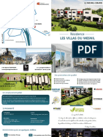 Villas Du Mesnil Plaquette