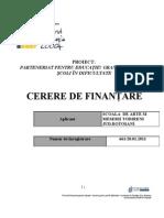 granturi 2011__Anexa 1_Formular Cerere de Finantare