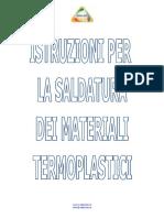 Istruzioni Saldatura PP PE PVDF