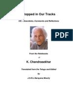 UG Krishnamurti - Stopped in Our Tracks - Series 2