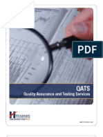 Quality Assurance and Testing Services