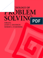 Davidson Sternberg The Psychology of Problem Solving 2003