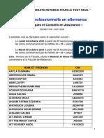 Liste oral TCA (1)