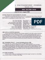 IQG Sept Newsletter 2008